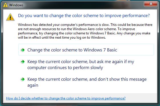 Color Scheme Change