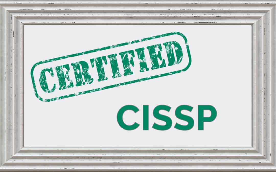(ISC)² CISSP Certified with Certificate Background