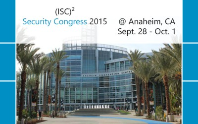 Just Returned From (ISC)² Security Congress 2015