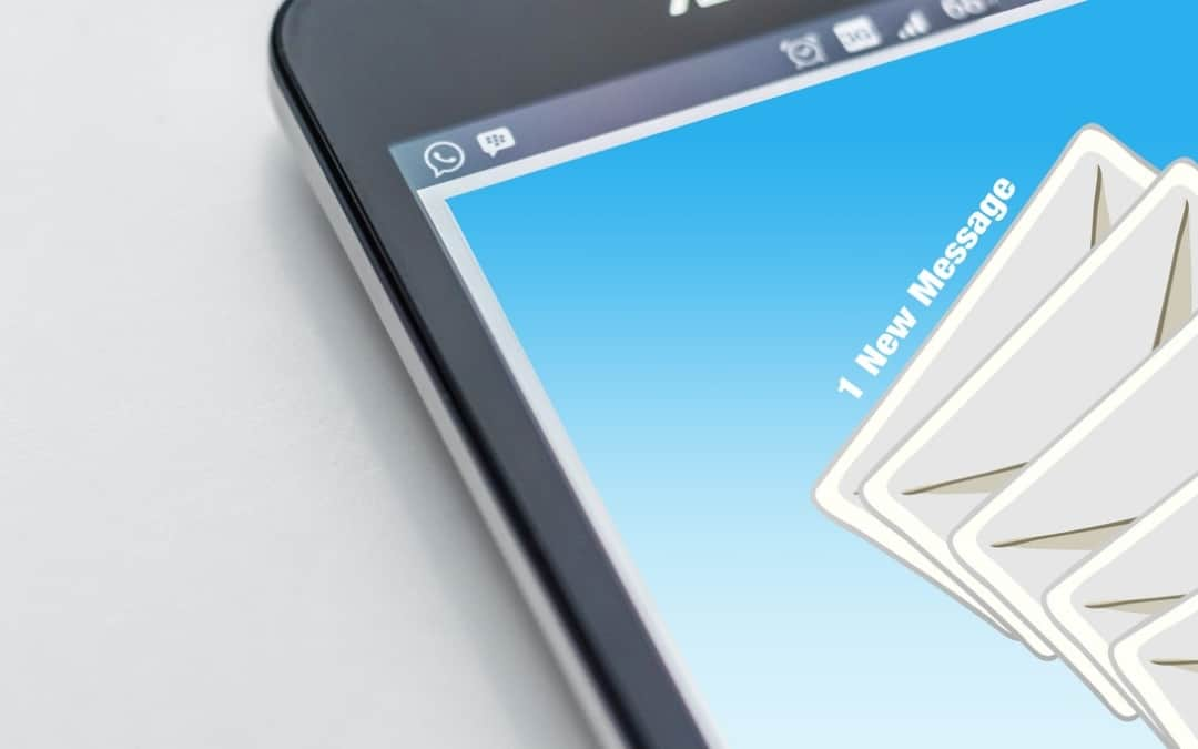 Generic Email Logo on Smartphone