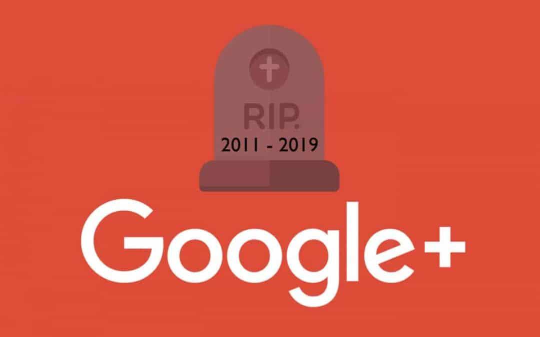Google+ Logo RIP 2011 - 2019