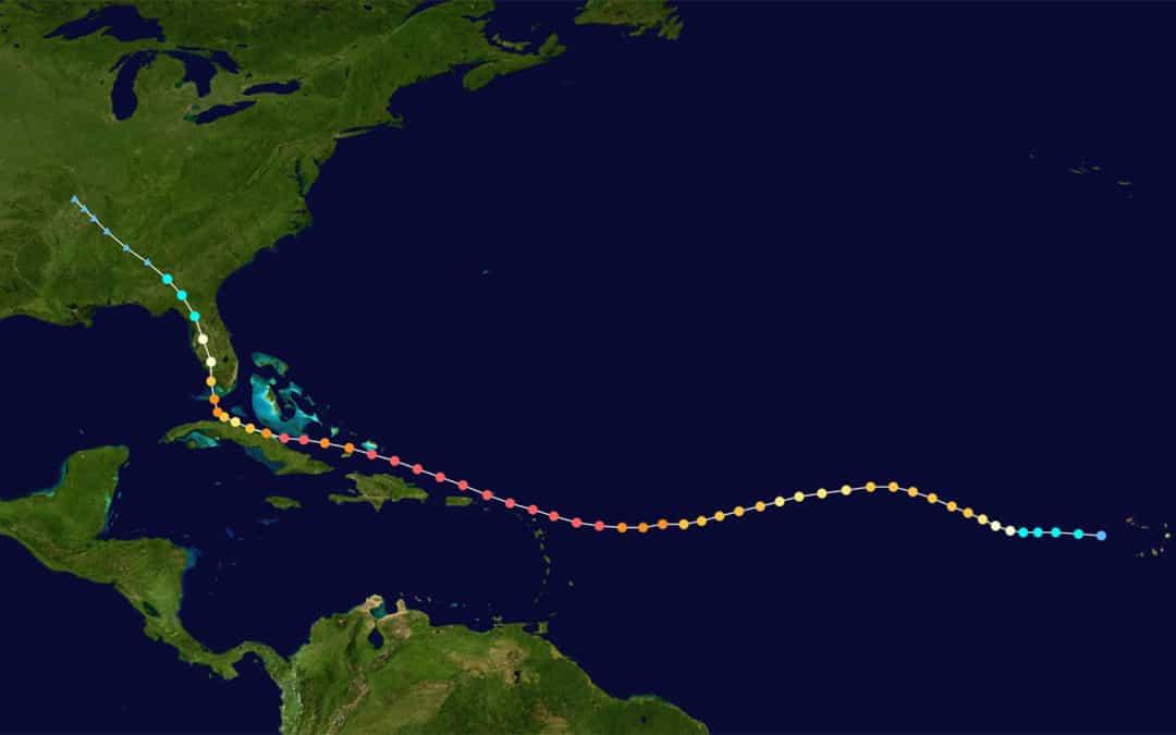 Hurricane Irma 2017 Storm Track