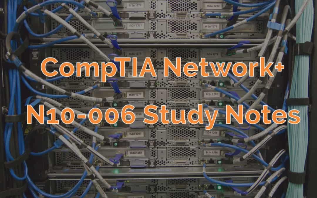 CompTIA Network+ Cable Management Cover Image