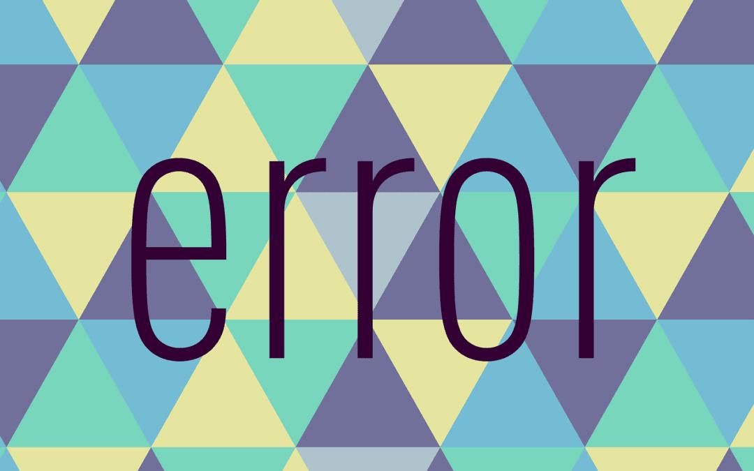Can't Start Program Office Application Error
