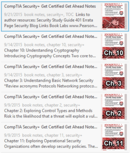 CompTIA Security+ Get Certified Get Ahead Book Notes